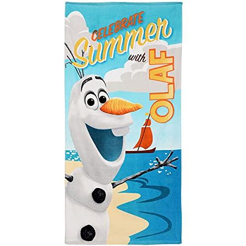 Toalla de algodón 70x140cm de Olaf Frozen
