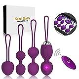 Kegel Balls Ben Wa Balls Exercise Weights Kegel Exercise for Women Pelvic Floor...