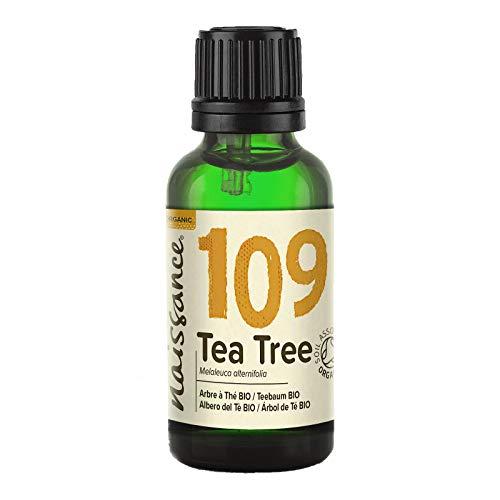 Naissance Teebaumöl BIO (Nr. 109) 30ml - 100{78885ae454ec76eab096f624fd153d7441dfaa50c8c11a5050e1450449046eec} naturreines ätherisches Öl, natürlich, bio-zertifiziert, vegan