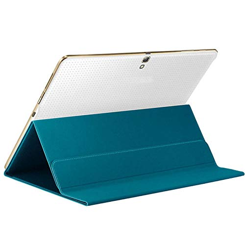 Ultra Slim Solid Magnetic Cover Case Stand voor Samsung Galaxy Tab S 10.5 Inch SM-T800 Tablet Accessoires #ZS Blauw