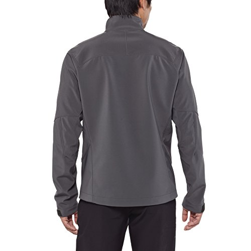 Patagonia Adze Veste coupe-vent Homme Forge Grey/Feather Grey FR : XL (Taille Fabricant : XL)