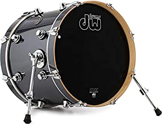 DW Performance Series Bass Drum - 14 Inches X 18 Inches Chrome Shadow FinishPly