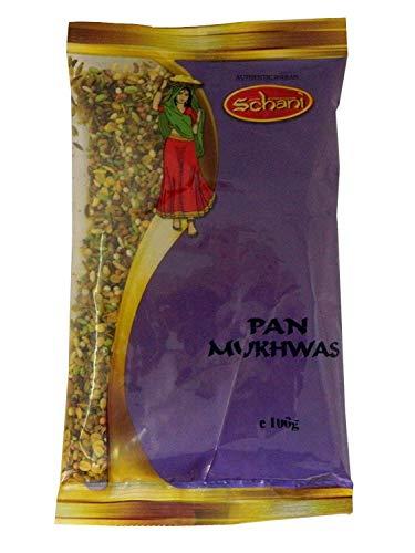 2x Schani Pan Mukhwas Sugar Coated Mix Seeds 100g Samen mit Zucker überzogen