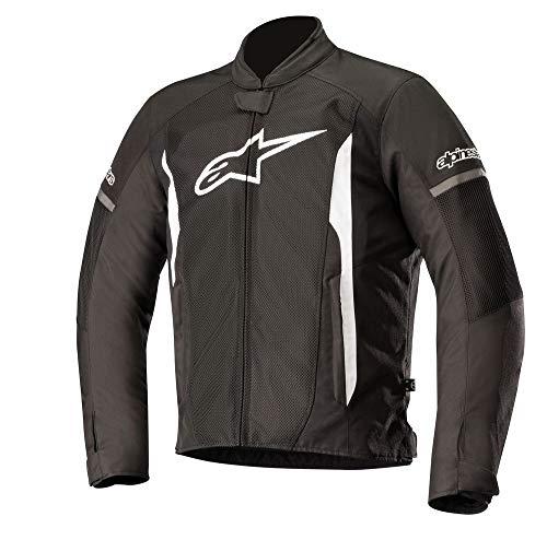 Alpinestars, giacca da moto T-faster Air Jacket nero/bianco, XL