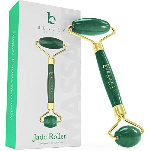 Jade Roller for Face - Face & Neck Massager for Skin Care,...