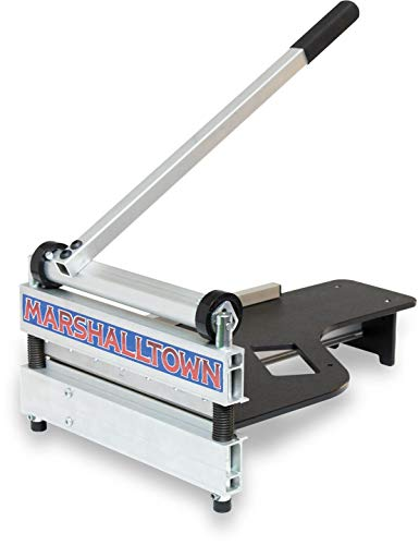 MARSHALLTOWN New 13' Lightweight Vinyl Plank & Laminate Flooring Cutter, Also Cuts Engineered Hardwood, Siding, and more - Proudly Made in the USA