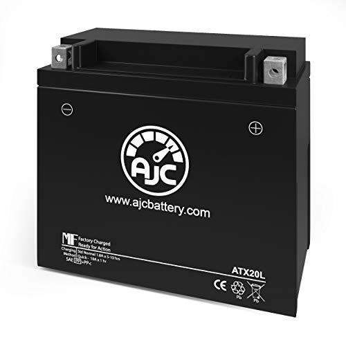 AJC ATX20L Powersports Replacement Battery