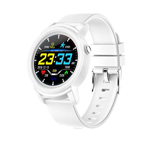 Best Gift !! Lankccok DK02 Smart Watch Heart Rate Sleep Monitor Smart Health Fitness Tracker Bracelet
