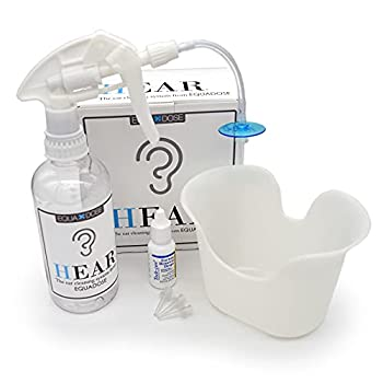 Hear Earwax Removal Kit from Equadose Ear Wax Remover for Ear Cleaning and Irrigation.