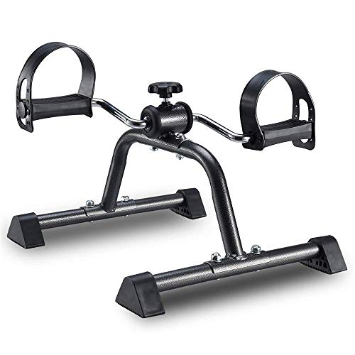XBSLJ Pedal Exercisers Portable Medical Exercise Bike Pedals Stable Mini Floor Foot Pedal-Durable Leg and Arm Recovery Medical Exerciser for The Elderly and Disabled