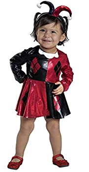 Princess Paradise Baby Harley Quinn Costume Dress and Diaper Cover Set As Shown 18M/2T