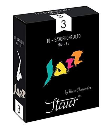 Stuurblad Alt Saxofoon Jazz 10 stuks per verpakking maat 4.