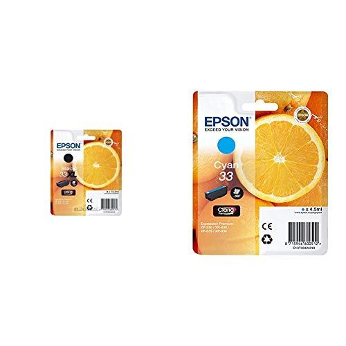 Epson C13T33514022 - 33XL - Cartucho de Tinta + Claria Premium 33 - Cartucho de Tinta Cian estándar 4,5 ml