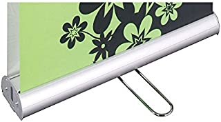 roll up banner size in feet