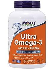 Now Foods, Ultra Omega-3 500 EPA/250 DHA, 180 Caps