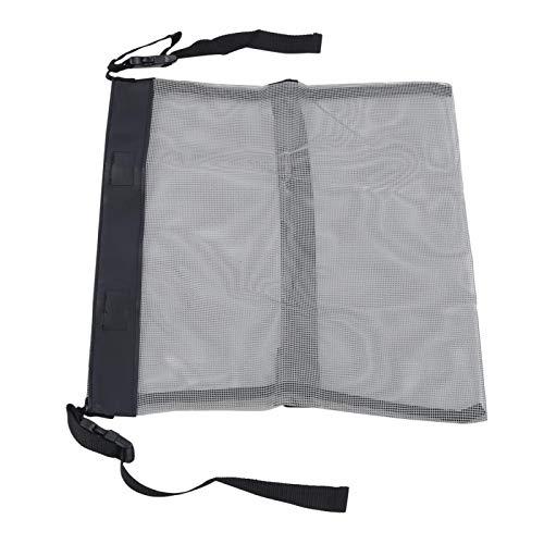 Shipenophy Bolsa de almacenamiento multifunción bolsa de malla de cochecito gris para niños para exteriores (gris)