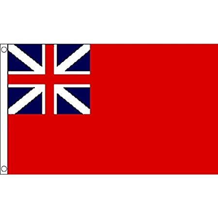 RED ENSIGN FLAG 5x3 Choose Size 3x2 UK NAVAL MILITARY FLAGS 8x5 Feet