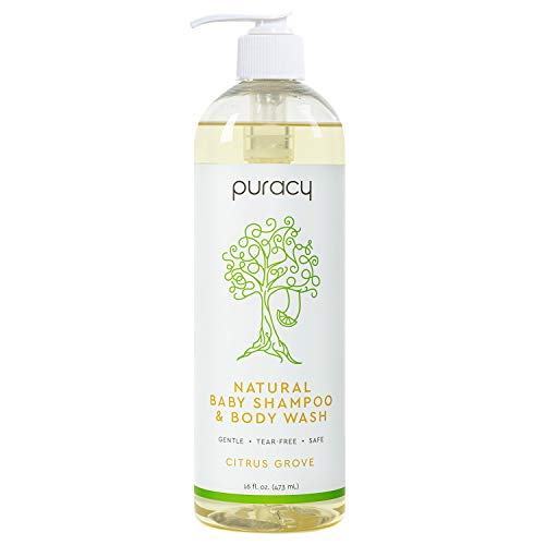 1. Puracy 100% Natural Baby Shampoo and Body Wash – Our Top Pick