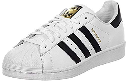 adidas Originals Kid's Unisex Superstar  White/Black/White 5