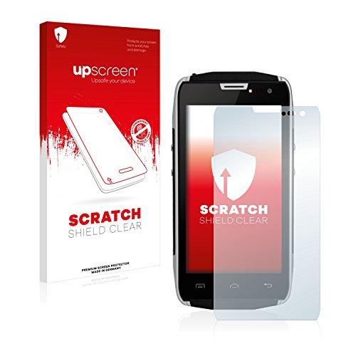 upscreen Schutzfolie kompatibel mit Doogee Titans2 DG700 – Kristallklar, Kratzschutz, Anti-Fingerprint