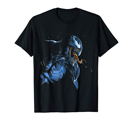 Marvel Venom Retro Dark Side View Camiseta