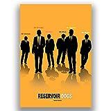 Box Prints Reservoir Dogs Film Film Vintage Retro-Stil