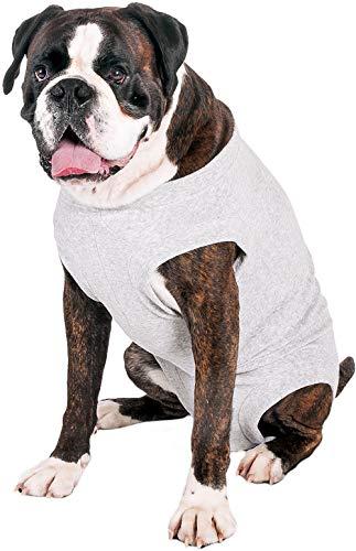 Karlie/Flamingo Safety Body-Geschirr, Jacke für Hunde grau,40 cm
