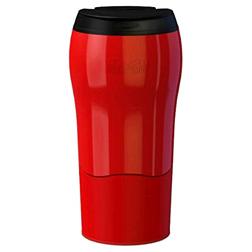 Mighty Mug MM1899 Thermos Solo 320ml Rouge, Acier Inoxydable, 8 x 8 x 16 cm