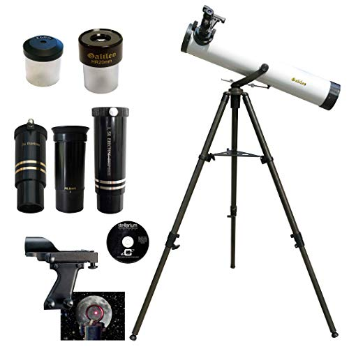 Galileo 800mm x 80mm Astronomical Telescope Kit with Zoom Lens