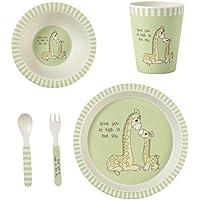Precious Moments 5-Piece Giraffe Mealtime Gift Set