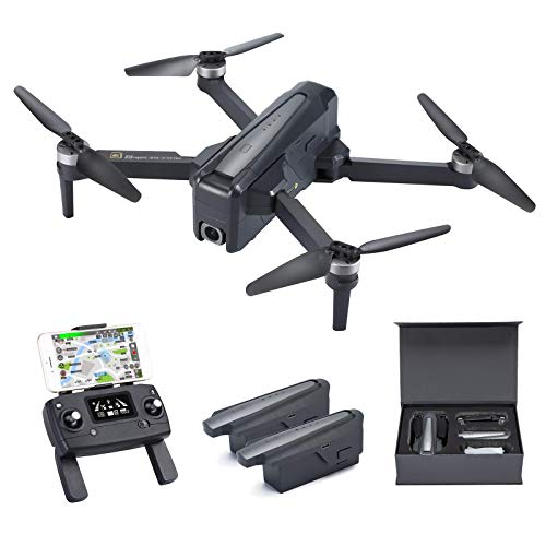 FANCOOL 4000ft FPV Drones with 4K EIS Camera for Adults Professional 60Mins Long Flight Time WiFi 5GHZ Quickly Transmitter UHD Picture Smoothly Video to Your Smart Phone Super Stable with Strong GPS