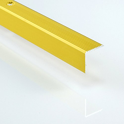 Aluminio Escaleras Perfil De L 1000mm de largo–Diferentes tamaños y colores