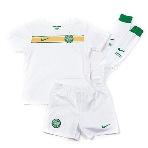 Original Celtic Glasgow Away Trikot-Hose/Shorts-Socken Set 2015 NIKE Gr.116-122 6/7 Jahre NEU