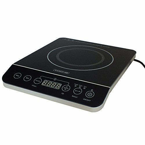 Voche 2000W Electric Induction Hob Hot Plate Digital Display - 10 Temp Settings + Timer