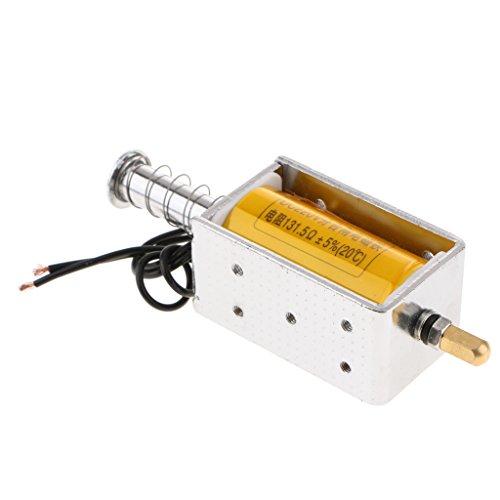 D dolity DC 220V 34,5mm Push Pull Solenoid Electromagnet magnético Interruptor DC de Solenoid larga duración