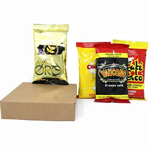 Puerto Rican Coffee Variety Sampler (4 packs of 4 oz. each)