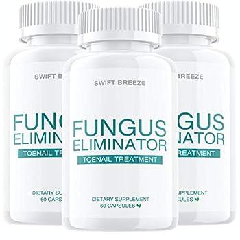 3 Pack  Fungus Eliminator Toenail Treatment  180 Capsules