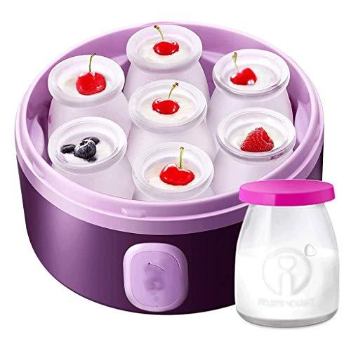 SJYDQ Automatischer Joghurtmacher aus Glas, ideal für selbstgemachten Baby-Joghurt, Kinder-Joghurt, Pr Grab and Go Breakfast