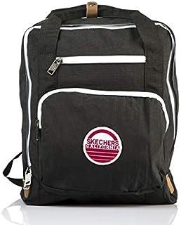 Skechers Laptop Backpack for Unisex, Black, 76402-06