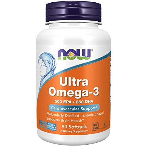 Ultra Omega-3 (90caps) - Now Foods