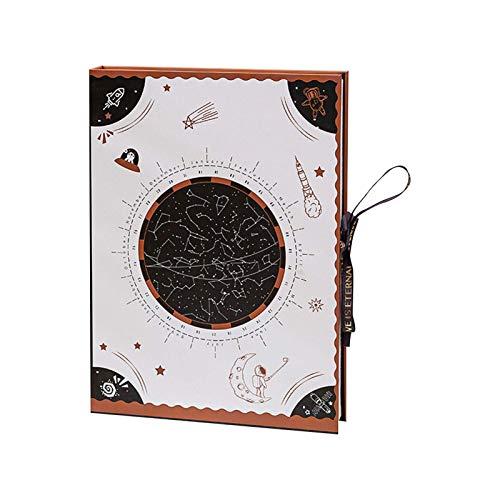 PUTAOYOU Caja de embalaje de chocolate, festival de gama alta elegante cajas de envolver regalos adecuados para la joyería de almacenamiento de san valentín, caramelo (9.84 * 7.87 * 1.97 pulgadas de f