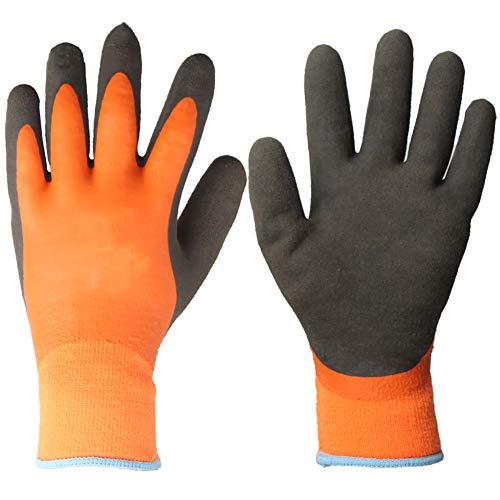 Antivries waterdichte handschoenen, anti-koude en anti-slip warme en lage temperatuur gekoelde vriezer Handling Laboratorium Arbeidsbescherming handschoenen, Palmwidth8cm