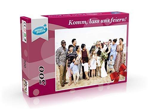Personalisiertes Fotopuzzle 500 Teile, Personalisiertes Puzzle mit Ihrem eigenen Bild, benutzerdefiniertes Foto-Puzzle, Puzzle mit eigenem Foto