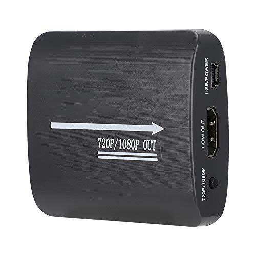 Surebuy AV CVBS RCA a HDMI Adaptador de Audio Convertidor de Video 1080P con Cable USB