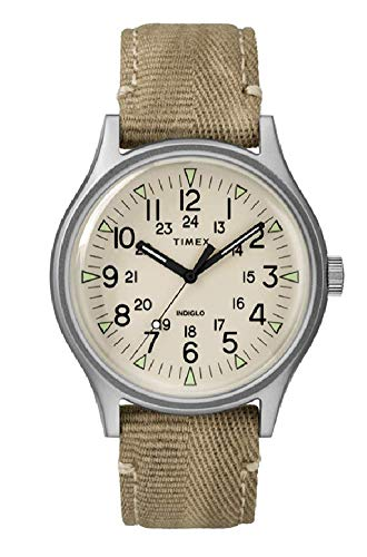 Timex Reloj Analógico para Hombre de Cuarzo con Correa en Nailon TW2R68000