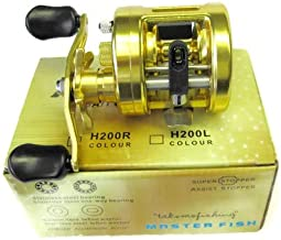 Conventional Baitcasting Reel CNC Metal Body for Freshwater and Saltwater Fishing