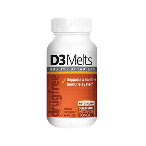 Dr Newtons Naturals Vitamin D3 60 Fast Melt Tabs