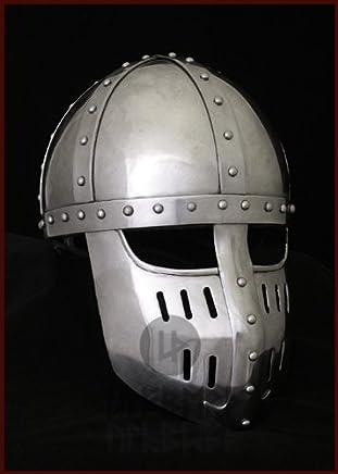 Ulfberth Hochmittelalter Spangenhelm mit mit mit Gesichtsplatte, Gr. M schaukampftauglich B00JR1K6L6     | Jeder beschriebene Artikel ist verfügbar  a46119