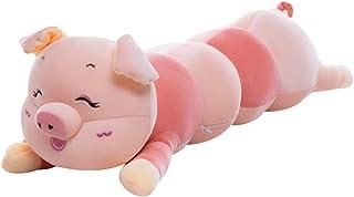 TOYANDONA Big Hugging Pillow Large Pig Caterpillar Stuffed Animal Plush Toy Giant Plush Doll for Kids Birthday Christmas (...