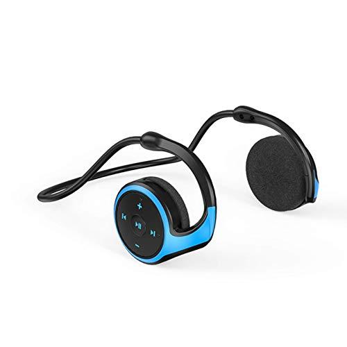 winnerurby Bluetooth-Headset V5.0 mit Ladestation, Support-TF-Karte, Mikrofon mit doppelter Geräuschunterdrückung, Headset mit einem Ohr für Mobiltelefon, LKW-Fahrer, Büro, Callcenter, Skype